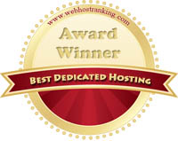 Best Dedicated Hosting - webhostingranking.com